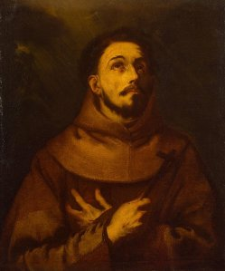 """St. Francis of Assisi"" by Luca Giordano (1652)"