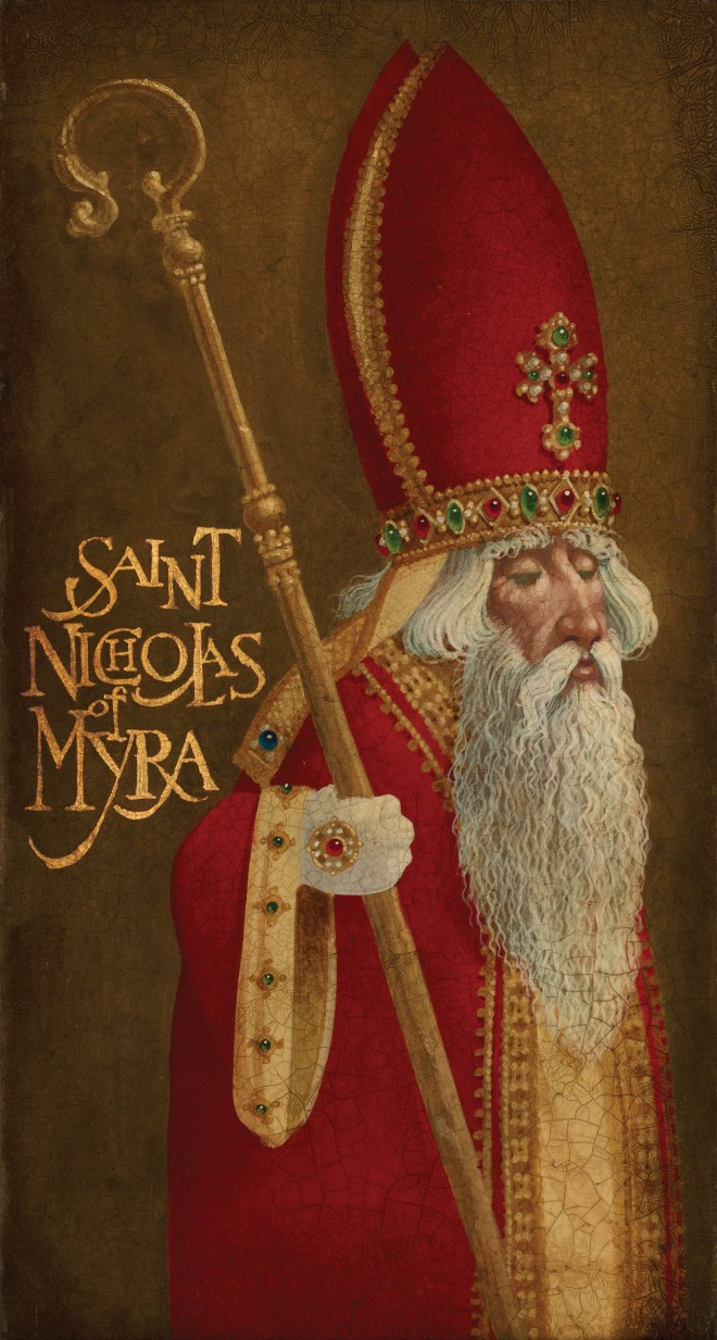 "Saint Nicholas Traditions >> The Really ""Old"" Saint Nick – St. Nicholas of Myra – Doxology – by Eric Costanzo"