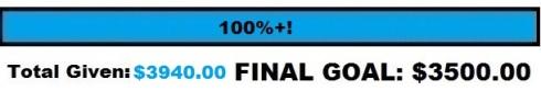 Final goal 100 3940