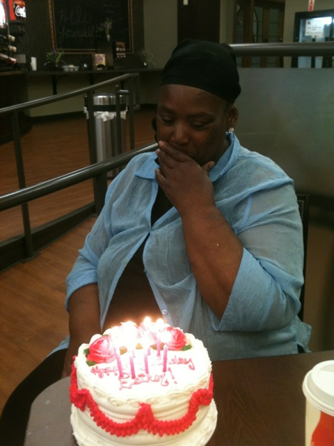Our Tuesday Ladies' Bible Study also became more effective this year, and even found new ways to show love to our ladies like Esther on her birthday.