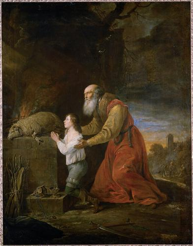 David Teniers II, The Prayer of Abraham and Isaac (1653)