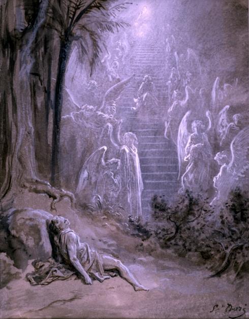 Jacob Dore, Jacob's Ladder (1850)