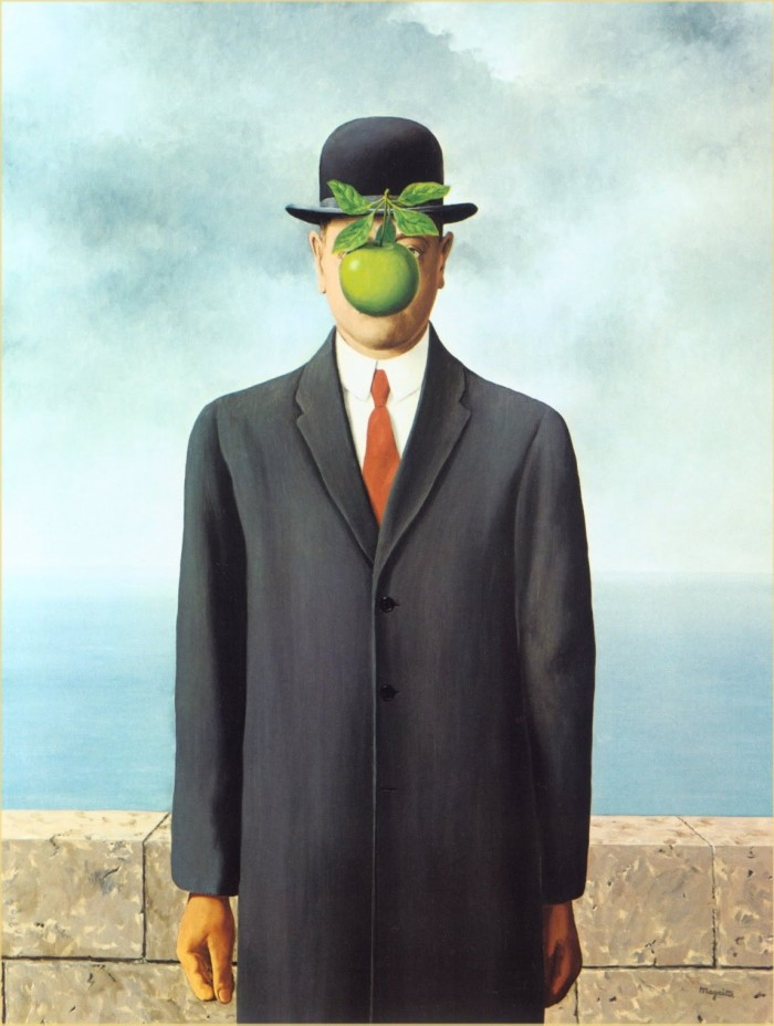 René Magritte, Son of Man, 1964