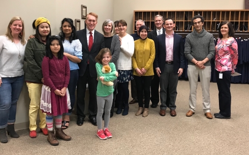 Lankford Visit to South Tulsa April 2018