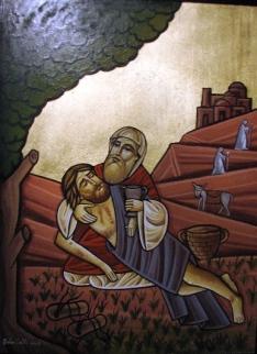 good-samaritan-coptic icon